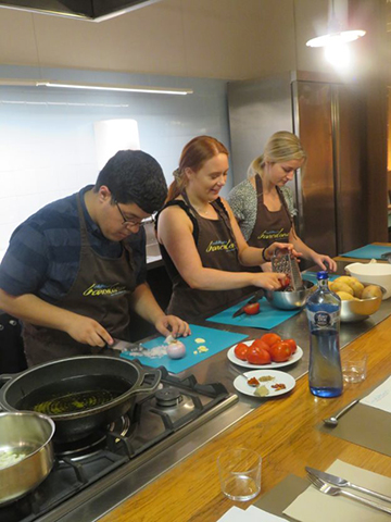 Cooking Class in Barcelona 2