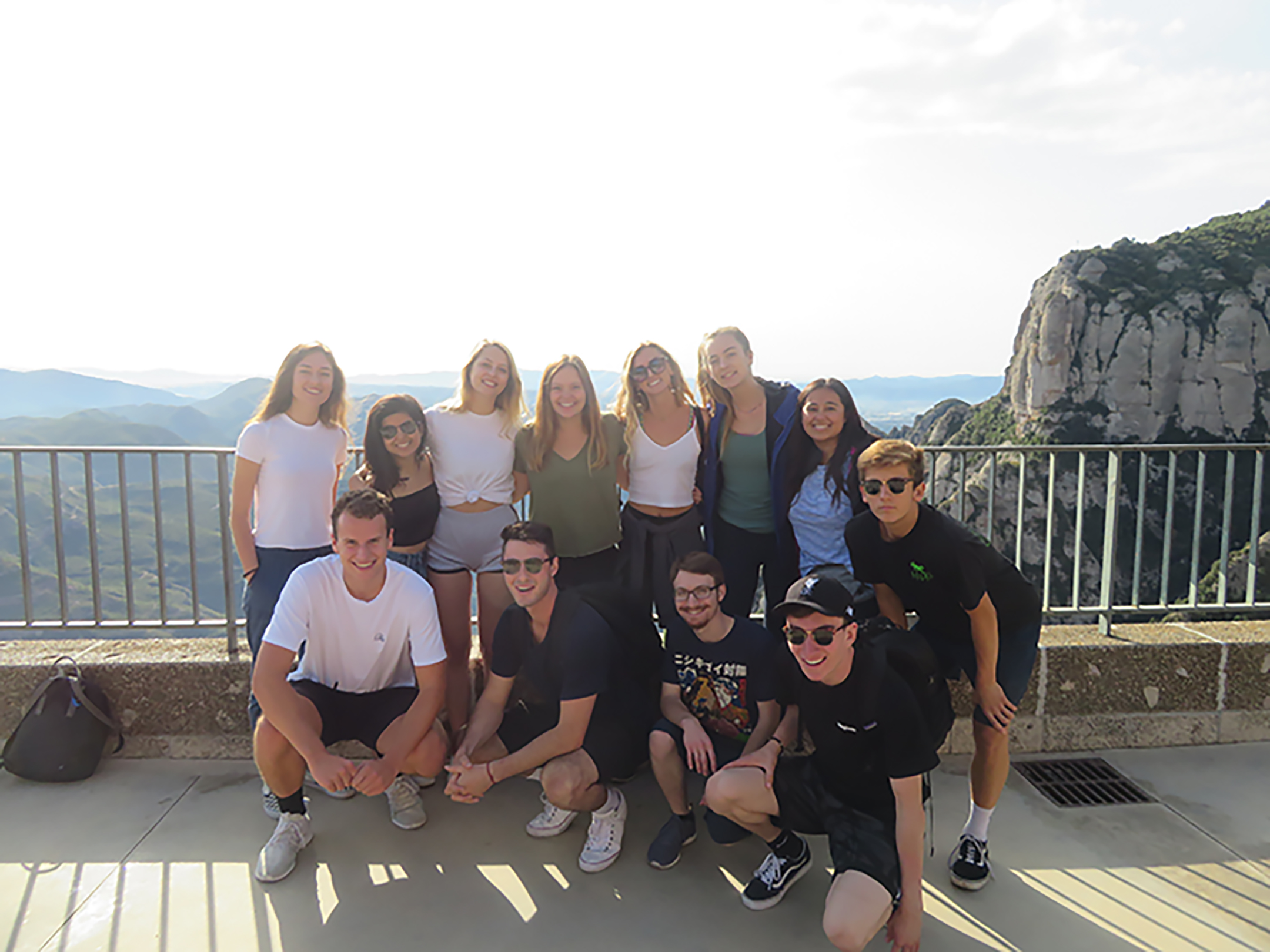 SRJC Students Barcelona Fall 2019